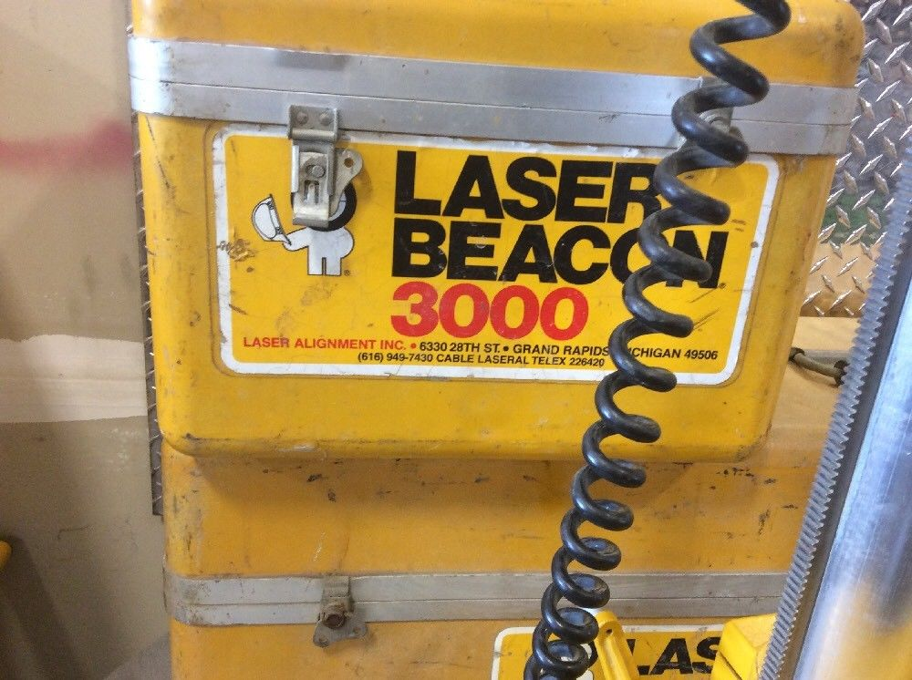 Laser Beacon 3000 Rod Eye Sensor Model 3000 With Hard