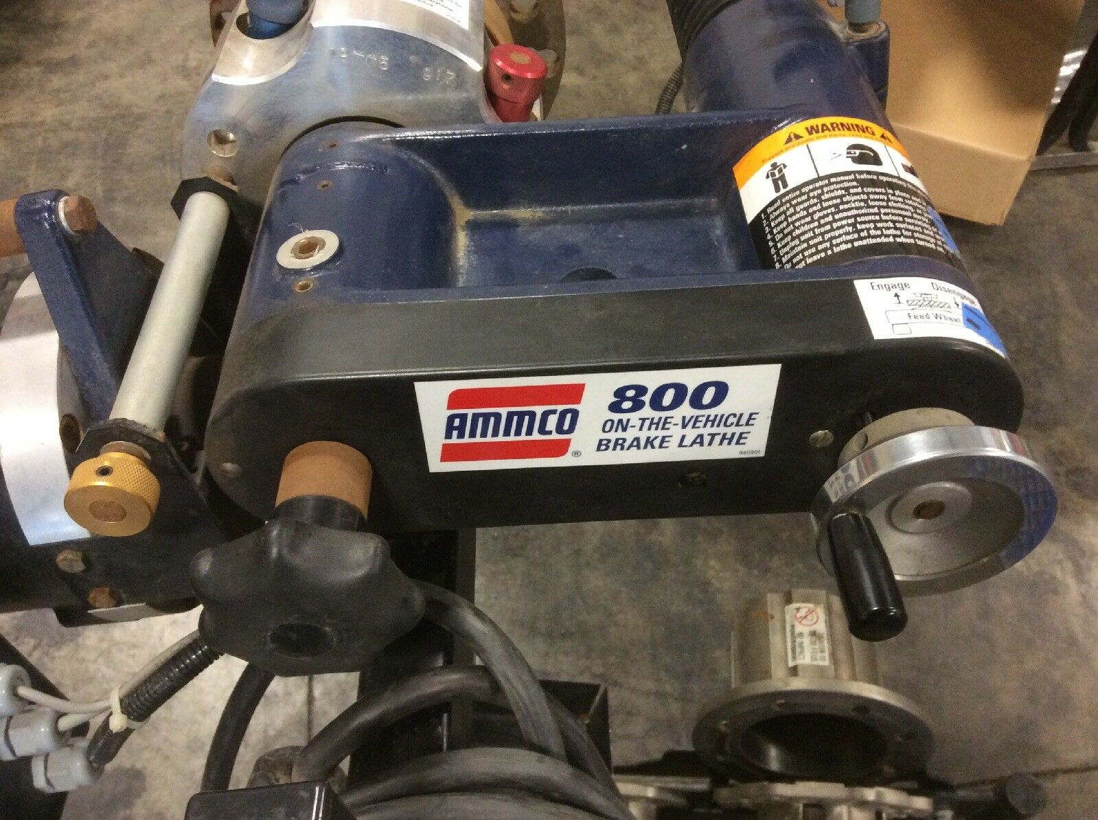 AMMCO Model 800 On Car Brake Lathe Pro Cut With All Adapters