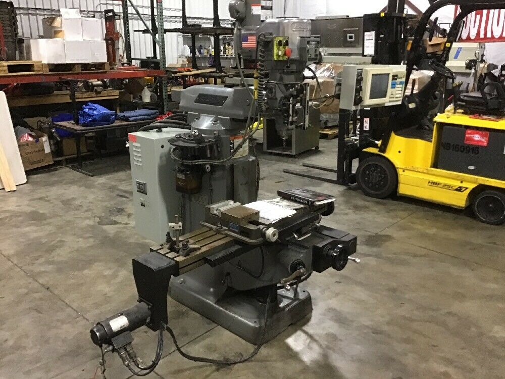 Bridgeport Ez Trak Dx 2 Axis Cnc Vertical Milling Machine